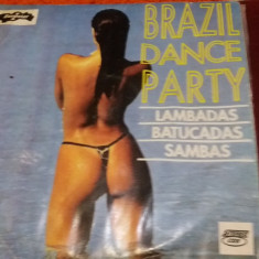 DISC VINIL BRAZIL DANCE PARTY - Muzica Latino