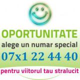 Numar AUR - 07x1.22.44.40 - frumos special usor cartela gold cartele vip numere