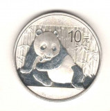 SV * China  10  YUAN  2015   <PANDA>   1 oz / 31,103  ARGINT .999     UNC, Asia