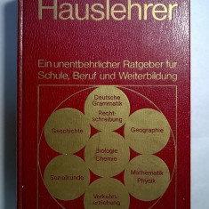 Der Hauslehrer - Carte in germana