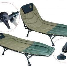 Pat pliant BARACUDA HYB037 PENTRU PESCUIT LA CRAP model nou 2016 - Mobilier camping