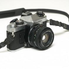 Fujica AX-1 plus obiectiv 50mm f1, 9 Fujinon-X - Aparat Foto cu Film Fujifilm