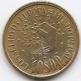 Portugalia 10 Escudos 1987 - Conselho da Europa Mundo Rural, 23.5 mm KM-638 (3)