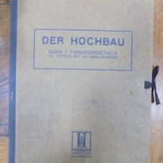 Der Hochbau, Album arhitectura Art-Nouveau - Carte veche