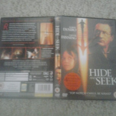 Hide and Seek (2005) – DVD - Film drama, Engleza