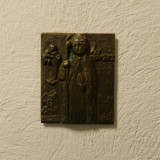 BRONZERELIEF ST RUPERT - JOSEPH KRAUTWALD - Sculptura