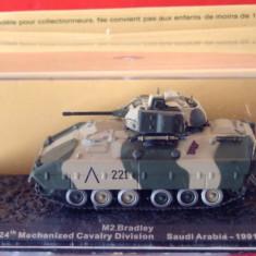 Macheta tanc M2 Bradley - Saudi Arabia - 1991 scara 1:72 - Macheta auto