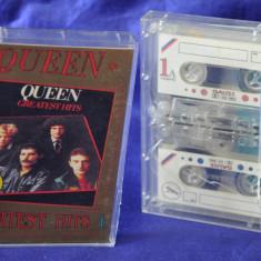 Set box dublu Caseta audio QUUEN - Greatest hits 1. Muzica Rock, Casete audio