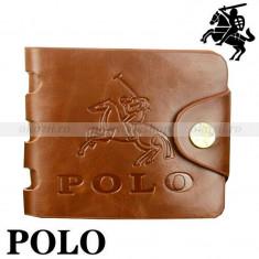 POLO SPORT - portofel din piele naturala - Portofel Barbati Polo Sport, Maro