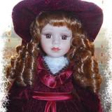 Papusa portelan Lady Rocco - Papusa de colectie
