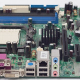 Placa de baza MSI MS-7295 VER 1.0, DDR2, SATA, Socket AM2 + Procesor AMD Athlon64 X2 4600 2.4GHz + Cooler + Shield + Radiator