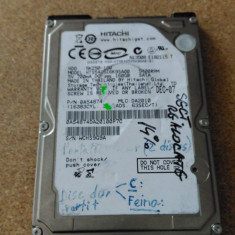 "HDD LAPTOP HITACHI S-ATA 2.5"" 160GB 5K250-160 DEFECT, 200-299 GB, SATA"