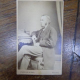 Frederich Max Muller, fotografie originala tip CDV