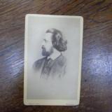 Johann Ludwig von Heyse, fotografie originala tip CDV