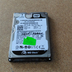 HDD LAPTOP WESTERN DIGITAL BLACK S-ATA 2.5