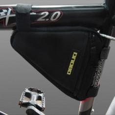 Suport bicicleta Port bagaj triunghi spatiu depozitare borseta pentru bicicleta - Accesoriu Bicicleta, Borsete bicicleta