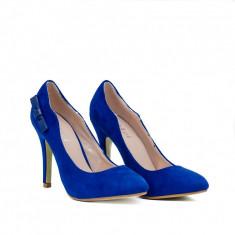 Pantofi dama Elen albastrii - Pantof dama