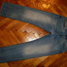 Blugi LEVIS 501-Marimea W33xL30 (talie-86cm, lungime -103cm) - Blugi barbati Levi's, Culoare: Din imagine, Prespalat, Drepti, Normal