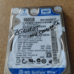 "HDD LAPTOP WESTERN DIGITAL S-ATA 2.5"" 160GB WD1600BEVT DEFECT, 100-199 GB, SATA, Western Digital"