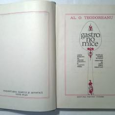 Al. O. Teodoreanu - Gastronomice - Carte poezie