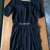 Rochie Sisley XS NOUA, Culoare: Negru