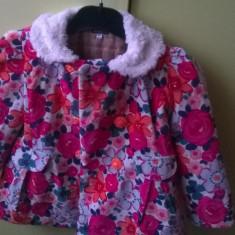 Vand palton elegant mar 116 pt 6 ani, Marime: 5-6 ani, Culoare: Multicolor