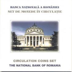 SET MONETARIE 2002 - DEDICAT REUNIUNII BERD - Moneda Romania
