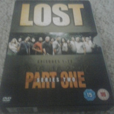 LOST - SERIES 2 - PART ONE - EPISOADE 1-12 - 4 DVD
