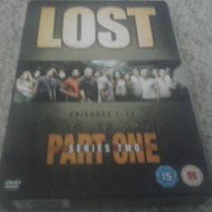 LOST - SERIES 2 - PART ONE - EPISOADE 1-12 - 4 DVD - Film serial, Actiune, Engleza