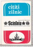bnk cld Calendar de buzunar Almanahul Scanteia 1986