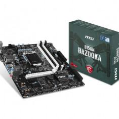 Placa de baza MSI Socket LGA1151, B150M BAZOOKA, Intel B150, 4*DDR4 2133MHz, DVI/HDMI, 1*PCIEx16/2*PCIEx1, 6*SATAIII/2*SATAe, GBLAN, 8CH, 6 bulk, Altul, ATX