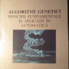 Algoritmi Genetici Principii Fundamentale Si Aplicatii In Aut - Ion Dumitrache, Catalin Buiu, 391514