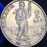 2 lei 1914 aUNC - Moneda Romania