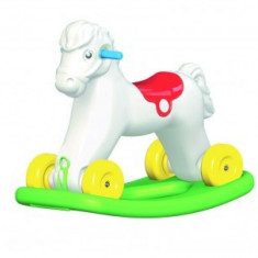 Ponei balansoar plastic - Masuta/scaun copii