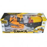 Buldozer cu remorca si camion - Masinuta