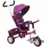 Tricicleta Multifunctionala Odyssey BabyMix - Violet, Baby Mix