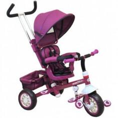 Tricicleta Multifunctionala Odyssey BabyMix - Violet - Tricicleta copii