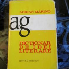 ADRIAN MARINO DICTIONAR DE IDEI LITERARE - Carte mitologie