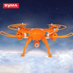 Drona Syma X8C Venture cu Camera 2MP 720P HD RC Gyro 6-Axe Portocaliu