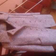 Palton de iarna - Palton dama, Marime: 38, Culoare: Gri