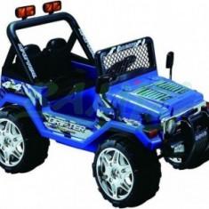 Masina JEPP cu Acumulator - Albastru - Masinuta electrica copii