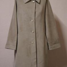 Palton gri-bej Max Mara original - Palton dama, Marime: M, Culoare: Din imagine