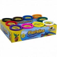 Plastelino - Multipack (10 culori) - Jocuri arta si creatie Noriel