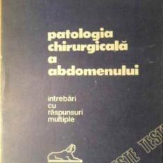 Patologia Chirurgicala A Abdomenului Intrebari Cu Raspunsuri - Eugen Tircoveanu, 391618 - Carte Chirurgie