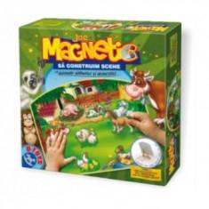 Joc de Creatie - Sa Constuim Scene - Animale Salbatice si Domestice - Jocuri arta si creatie D-Toys