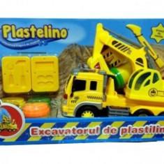 Plastelino - Excavatorul de plastilina - Jocuri arta si creatie Noriel
