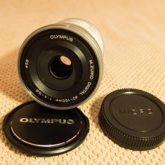 Olympus M.ZUIKO Digital ED 40-150mm f4.0-5.6 R argintiu - Obiectiv mirrorless