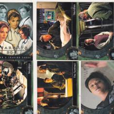 Bnk crc Cartonase de colectie - STARGATE SG-1 - Rittenhouse 2002 - Cartonas de colectie