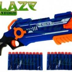 Blaze - Pistol cu Gloante din Burete - Pistol de jucarie