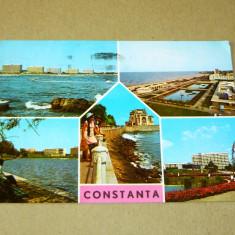 Constanta - vederi - 2+1 gratis - RBK17652 - Carte Postala Transilvania dupa 1918, Necirculata, Fotografie